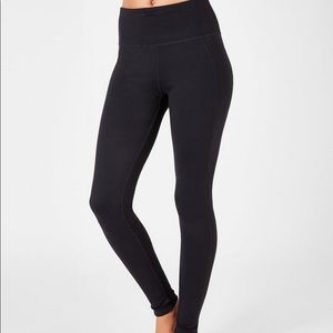 NWT Sweaty Betty Reversible Yoga Leggings Size S